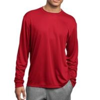 Unisex Poly Long Sleeve T-Shirt Thumbnail
